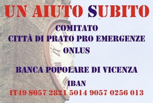 Le iniziative a Prato a favore dei terremotati 2012